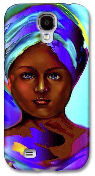 Yemaya -the Ocean Goddess Galaxy S4 Case by Carmen Cordova