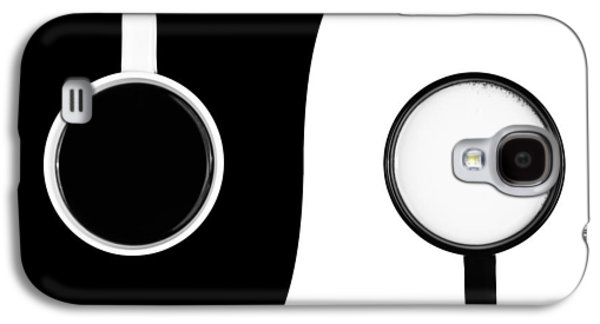 Yang Galaxy S4 Cases - Yin and Yang Galaxy S4 Case by Gert Lavsen