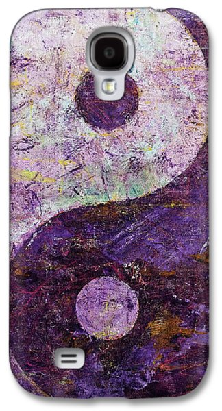 Purple Yin Yang Galaxy S4 Case