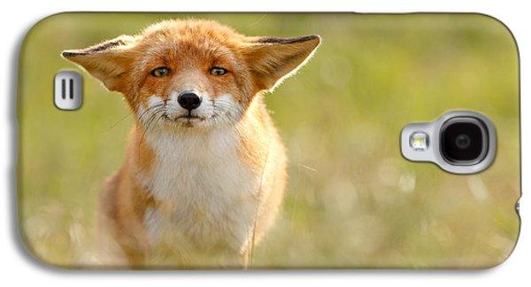 Yoda - Funny Fox Galaxy S4 Case by Roeselien Raimond