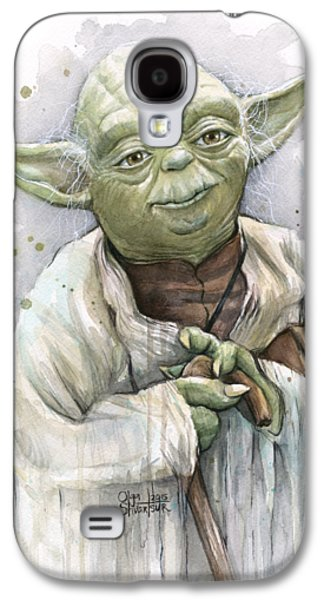 Yoda Galaxy S4 Case by Olga Shvartsur