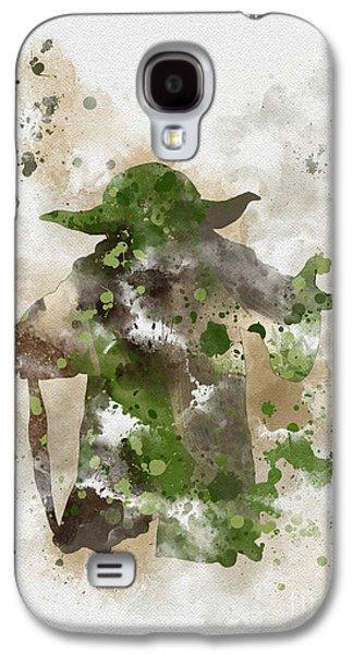 Yoda Galaxy S4 Case by Rebecca Jenkins