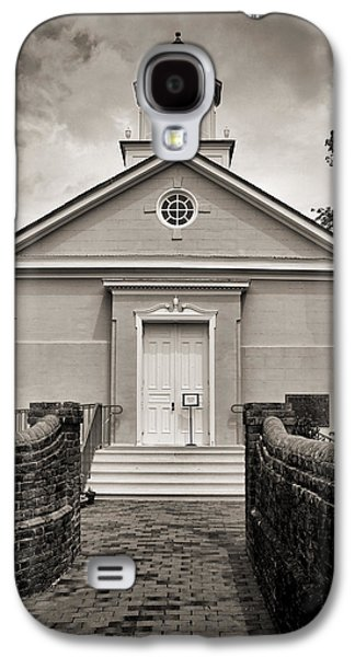 York-hampton Parish Church - Toned Bw Galaxy S4 Case by Stephen Stookey