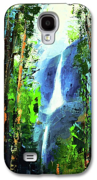 Yosemite Falls Galaxy S4 Case by Elise Palmigiani