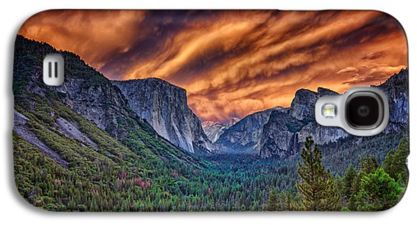 Yosemite Fire Galaxy S4 Case