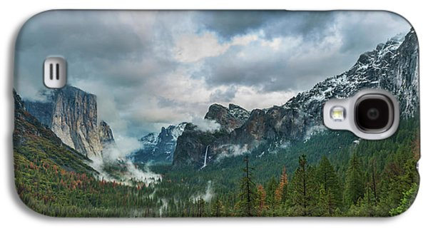 Yosemite Valley Storm Galaxy S4 Case