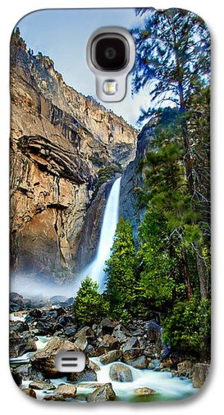 Yosemite Waterfall Galaxy S4 Case by Az Jackson
