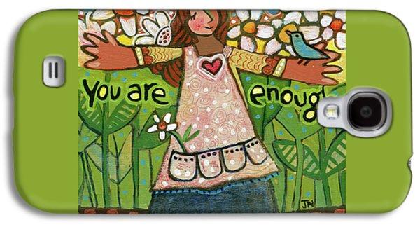 You Are Enough Galaxy S4 Case by Jen Norton