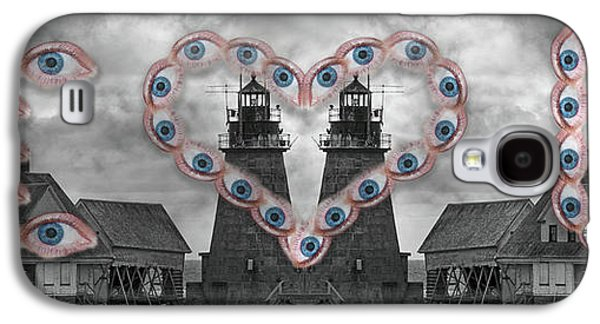 You Are My Lighthouse Galaxy S4 Case by Betsy Knapp
