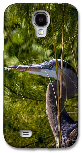 Egret Galaxy S4 Case - You Can't See Me by Marvin Spates