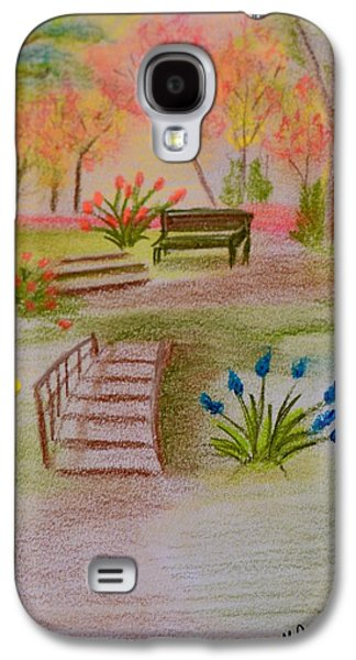 You Were There Galaxy S4 Case by Maria Urso