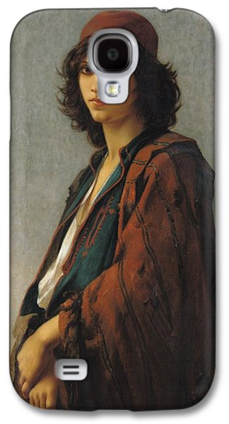 Youthful Galaxy S4 Case - Young Bohemian Serb by Charles Landelle