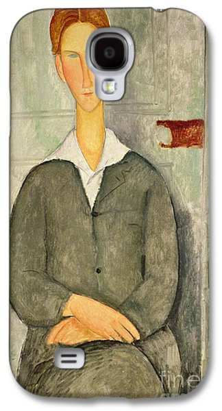 Young Boy With Red Hair Galaxy S4 Case by Amedeo Modigliani
