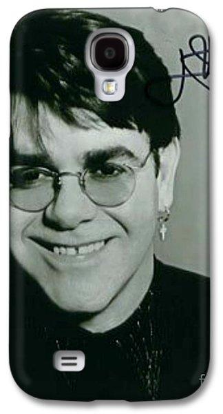 Young Elton John Autographed Photo Galaxy S4 Case