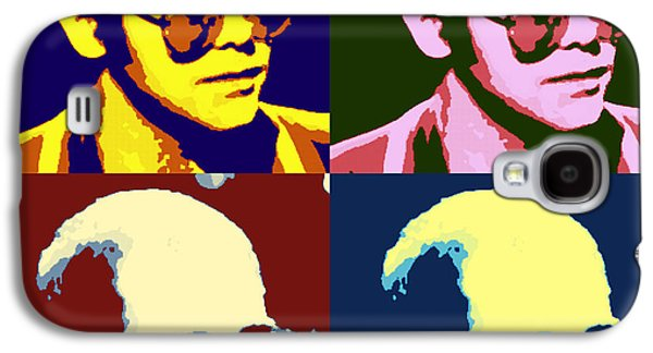 Young Elton John Pop Art Poster Galaxy S4 Case by Pd