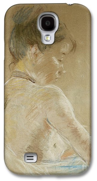 Young Girl With Naked Shoulders Galaxy S4 Case
