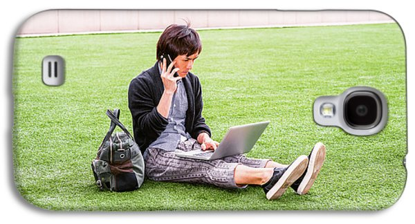 Young Japanese Man Traveling, Working In New York 15041418 Galaxy S4 Case