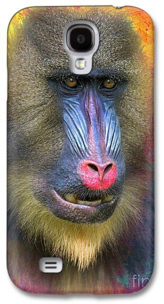Young Mandrill Galaxy S4 Case