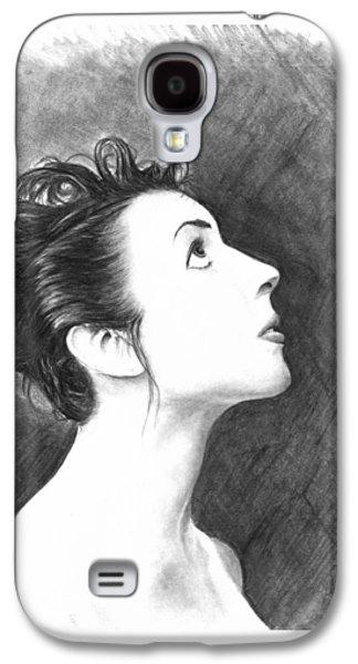 Young Woman Galaxy S4 Case by Ryan Jones