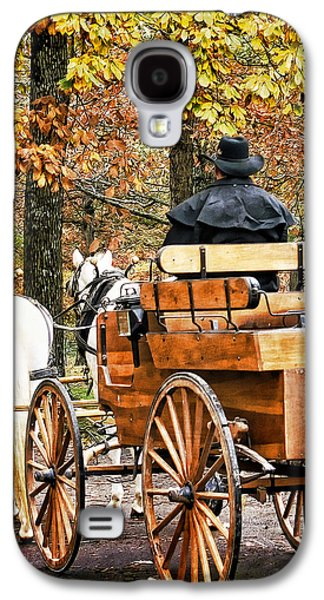 Your Carriage Awaits Galaxy S4 Case by TnBackroadsPhotos
