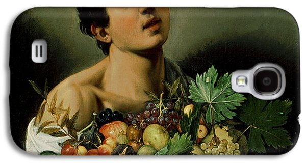 Youth With A Basket Of Fruit Galaxy S4 Case by Michelangelo Merisi da Caravaggio
