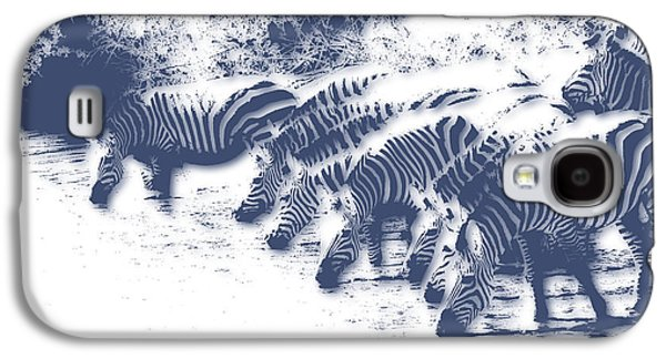 Zebra 3 Galaxy S4 Case by Joe Hamilton