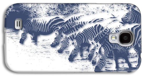 Zebra 3 Galaxy S4 Case by Joe Hamilton