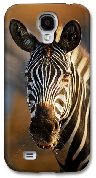 Zebra Close-up Portrait Galaxy S4 Case