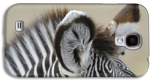 Zebra Ears Galaxy S4 Case by David & Micha Sheldon