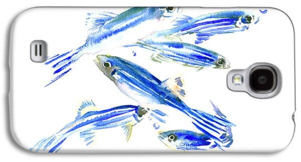 Zebra Fish, Danio Galaxy S4 Case