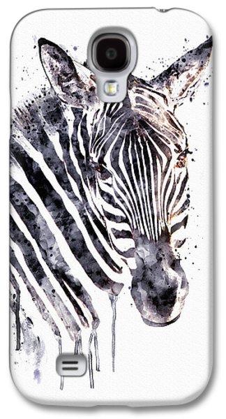 Zebra Head Galaxy S4 Case by Marian Voicu