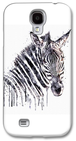 Zebra Head Galaxy S4 Case by Marian Voicu