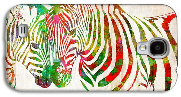 Zebra Lovin Galaxy S4 Case