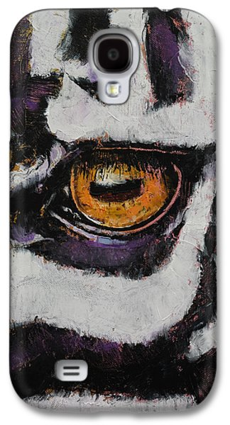 Zebra Galaxy S4 Case by Michael Creese