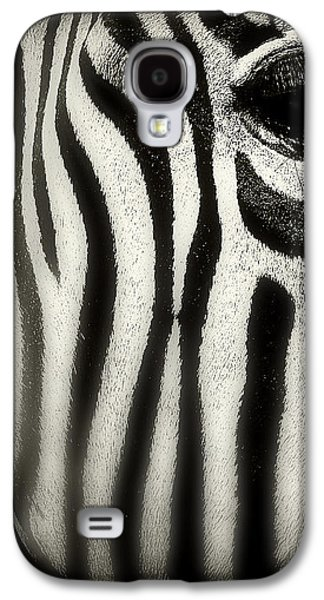 Zebra Galaxy S4 Case by Perry Webster