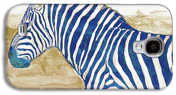 Zebra - Stylised Pop Art Poster Galaxy S4 Case