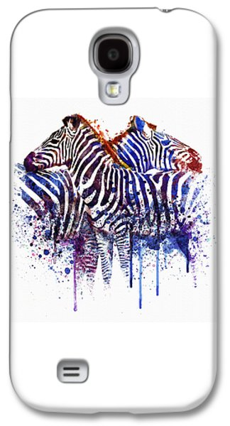 Zebras In Love Galaxy S4 Case