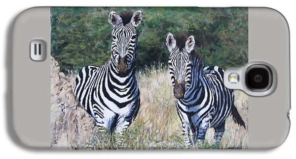 Zebras In South Africa Galaxy S4 Case