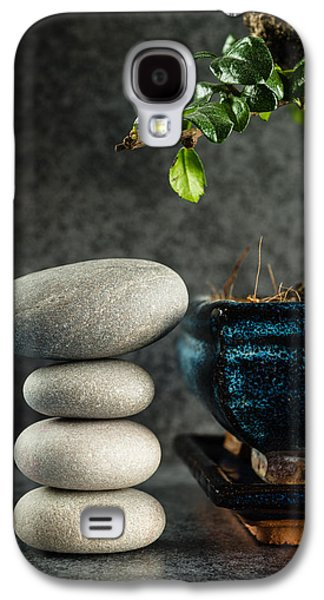 Zen Stones And Bonsai Tree Galaxy S4 Case