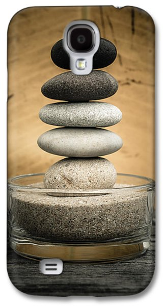 Zen Stones I Galaxy S4 Case by Marco Oliveira
