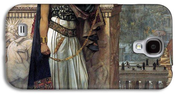 Zenobia's Last Look On Palmyra Galaxy S4 Case by Herbert Gustave Schmalz
