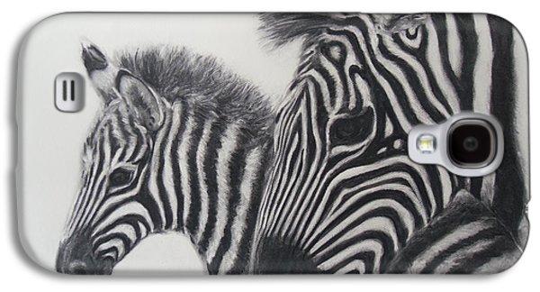 Zebras Galaxy S4 Case by Adrienne Martino