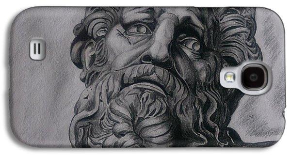 Zeus  Galaxy S4 Case by Tibor  Boszormenyi