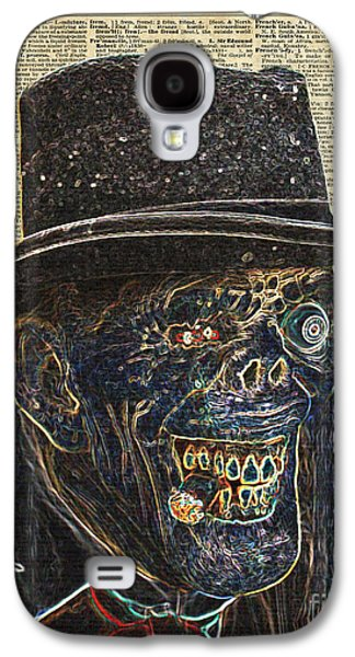 Zombie Apocalypse,monster,walking Dead,ugly Halloween Creature  Galaxy S4 Case