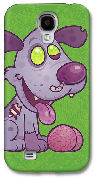 Zombie Puppy Galaxy S4 Case by John Schwegel