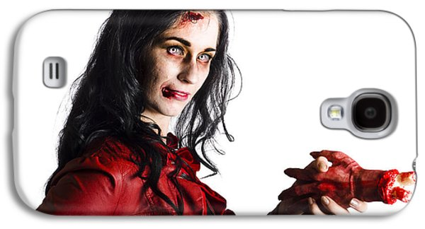 Zombie Shaking Severed Hand Galaxy S4 Case