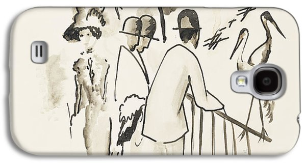 Zoological Garden II Galaxy S4 Case by August Macke