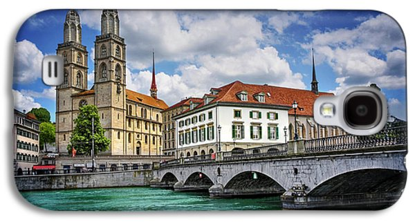 Zurich Old Town  Galaxy S4 Case by Carol Japp