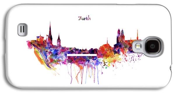 Zurich Skyline Galaxy S4 Case by Marian Voicu