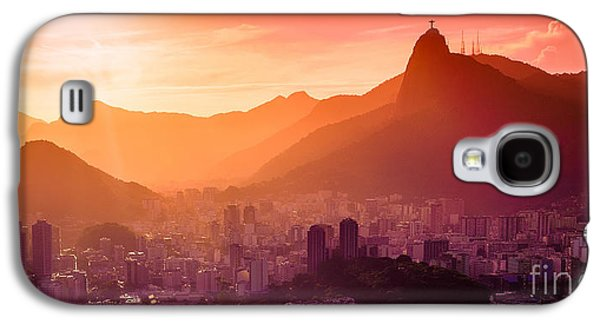 International Travel Galaxy S4 Case - Christ The Redeemer by Celso Diniz